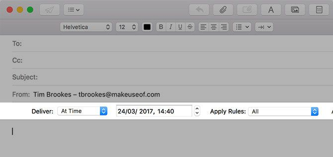 How to Schedule Email on Your Mac mailacton