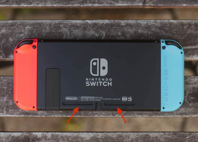 nintendo switch back