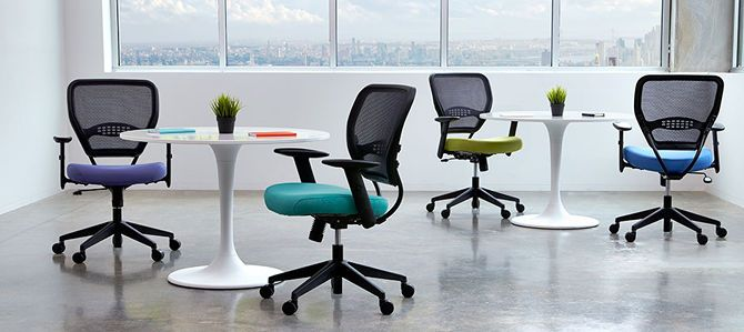 The 5 Best Office Chairs For Back Pain And Better Posture Office Chair  Space Seating Airgrid