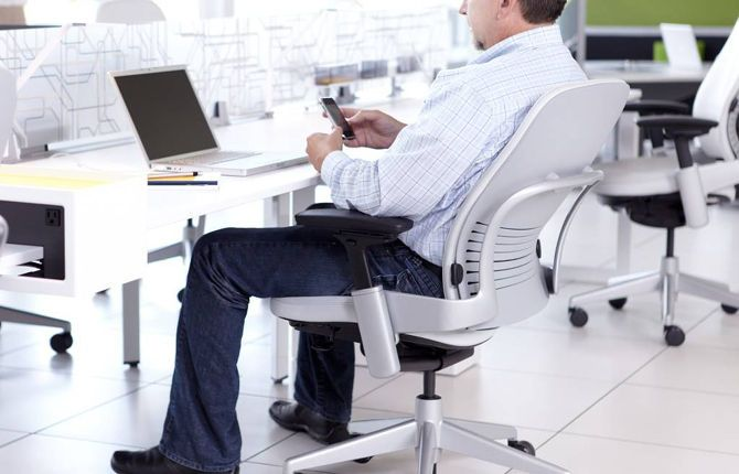 The 5 Best Office Chairs for Back Pain and Better Posture office chair steelcase leap & The 5 Best Office Chairs for Back Pain and Better Posture