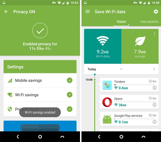 4 Ways to Reduce Your Mobile Internet Data Usage with Android Apps opera max