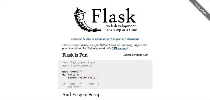Python on the Web: The Amazing Things You Can Build python web framework flask