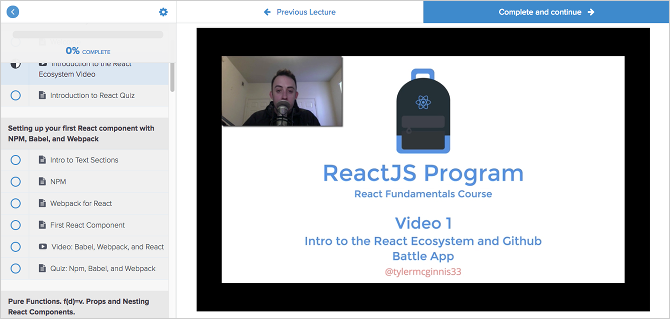 7 Best Free Tutorials for Learning React and Making Web Apps react tutorial fundamentals course