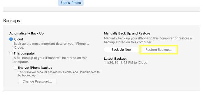 A Complete Beginner's Guide to iOS 11 for iPhone & iPad restore backup