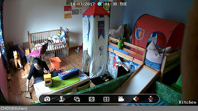 Reolink Keen: 100% Wireless Security Cam Review screencap full screen stream