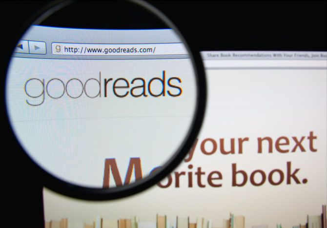 goodreads site