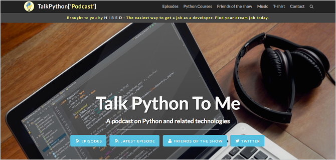 Python on the Web: The Amazing Things You Can Build sites made python talkpython