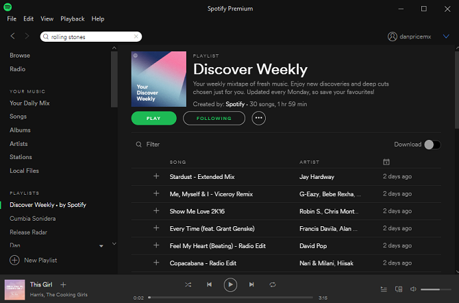 The Internet Music Guide for the Audiophile spotify discover weekly