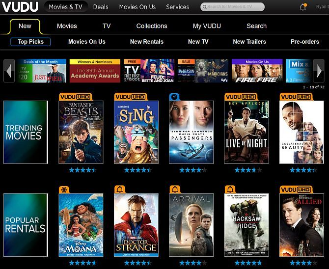 The Best Sites to Watch TV on Your Computer Over the Internet vudu