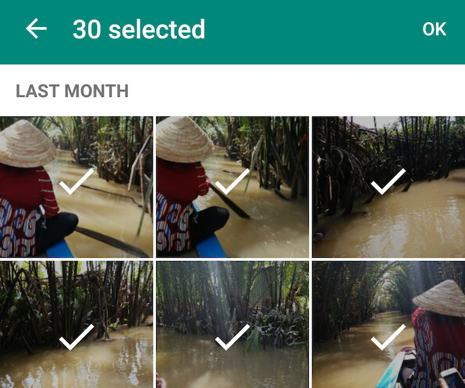 New WhatsApp feature: share more photos