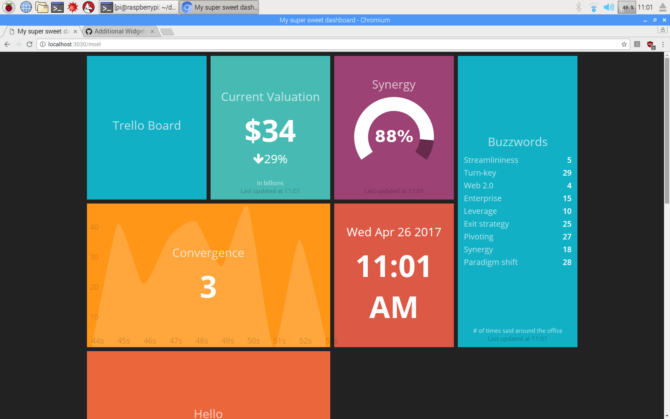 Dashing-Dashboard-Raspberry-Pi