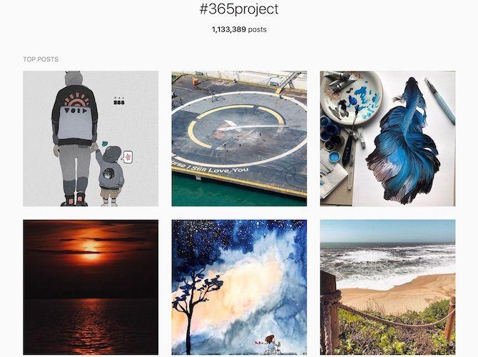 Instagram 365 project