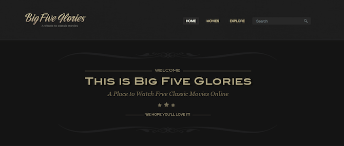 big five glories