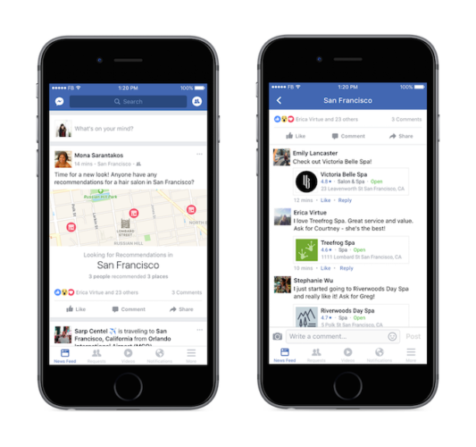 Hidden Feature in Facebook: Gather Recommendations From Friends FBRecommendations1 533x500