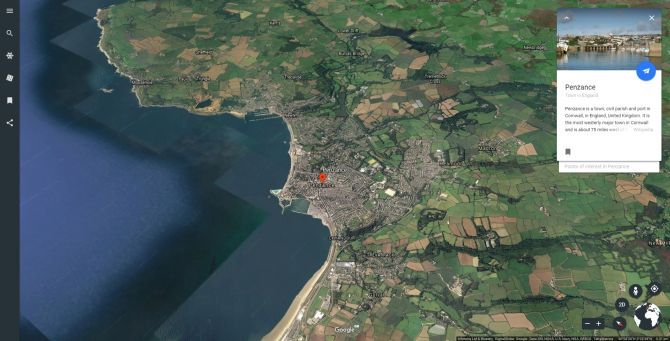 Google Earth Just Received A Massive Global Update Google Earth Penzance