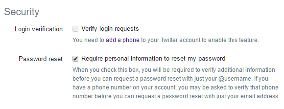 Twitter Now Supports Two-Factor Authentication Twitter Enable Third Party 2fa