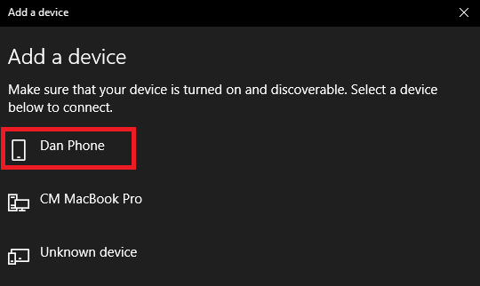 windows 10 add bluetooth