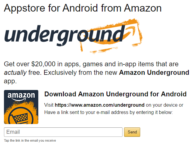 Google Play vs. Amazon Appstore: Which Is Better? amazon underground