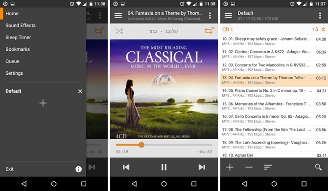 10 Android Apps That'll Help You Fall Asleep Faster android app aimp music