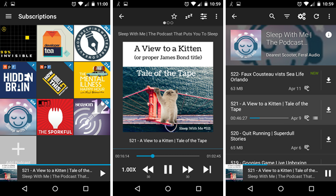 10 Android Apps That'll Help You Fall Asleep Faster android app antennapod
