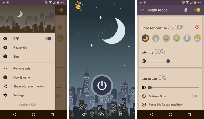 10 Android Apps That'll Help You Fall Asleep Faster android app blue light filter