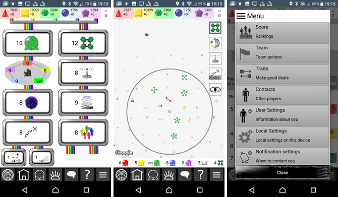 10 Fun Outdoor Games to Play Using GPS-Enabled Smartphones android gps game color planet