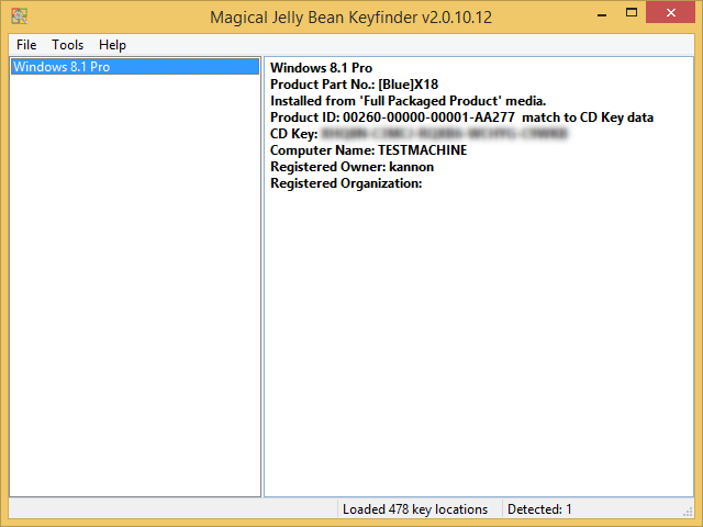 3 Portable Applications to Help You Find Serial Keys on Your Windows PC magical jellybean keyfinder 2015