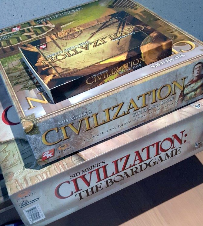 civilization board games