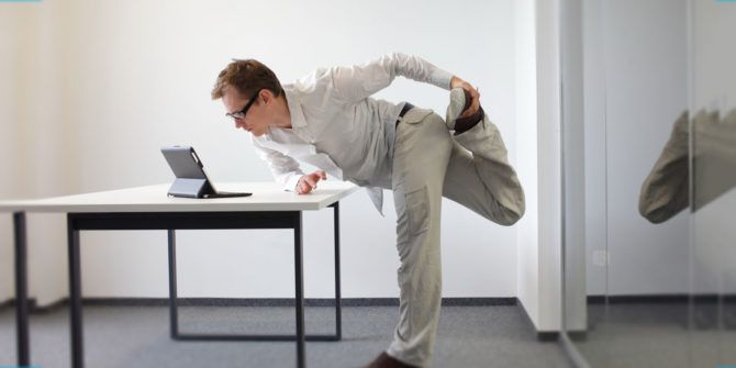 Get Fit at Your Desk With These Quick Exercises