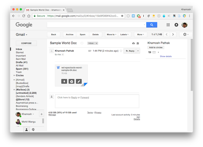 open office documents in chrome 2