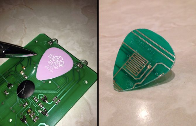pcb guitar pick plectrum