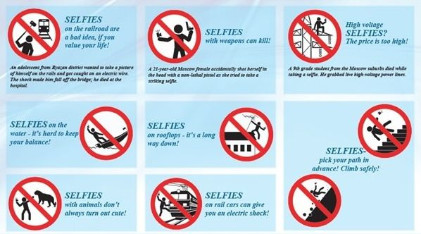 Should You Take That Selfie? Some Things to Consider russian guide to safe selfies in english part 2
