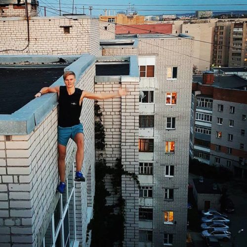 Should You Take That Selfie? Some Things to Consider selfie russian roofer 500x500