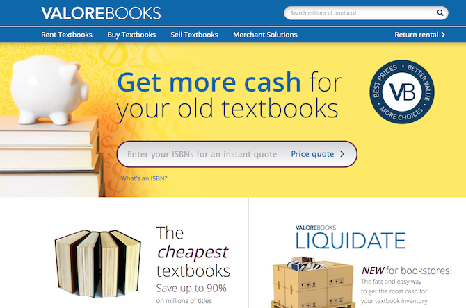 The 7 Best Alternatives to Amazon for Buying Books valorebooks screenshot 670x444