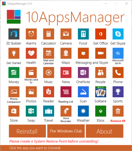 windows 10 apps manager