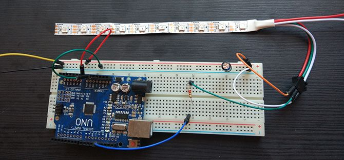 Arduino Completed Circuit