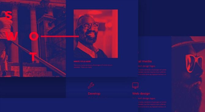 behance template collection