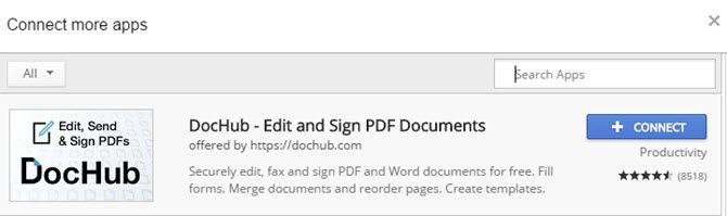 How to Fill Out PDF Forms Using Google Drive Connect DocHub