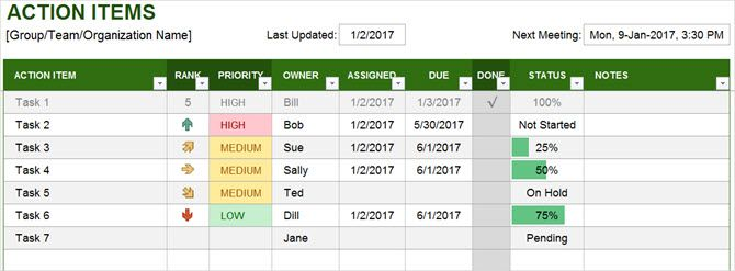 The Best Productivity Templates For Microsoft Excel To Get Things Done