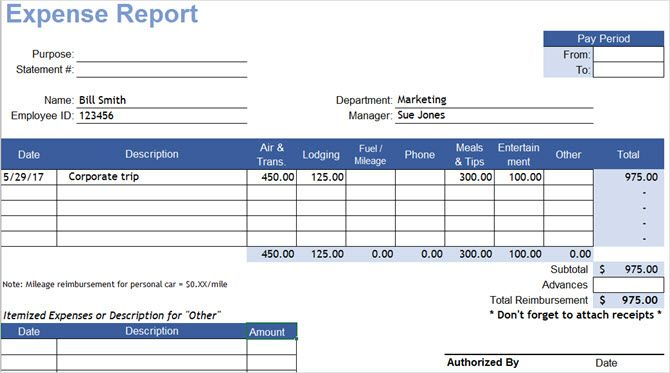 ExcelExpenseReport-Vertex42 Quicken Expense Report Template on office supply, excel credit card, free printable home, excel for free, for court,