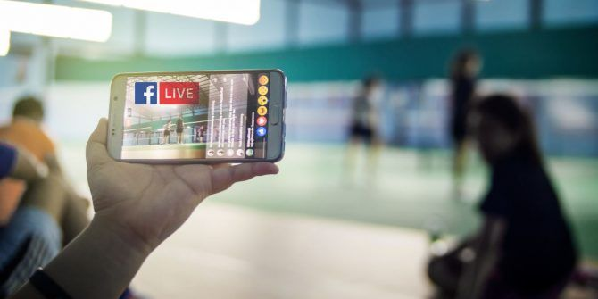 How to Stream Video From Your Smartphone or PC With Facebook Live