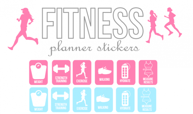 Find The Best Health And Fitness Templates And Printables On The Web