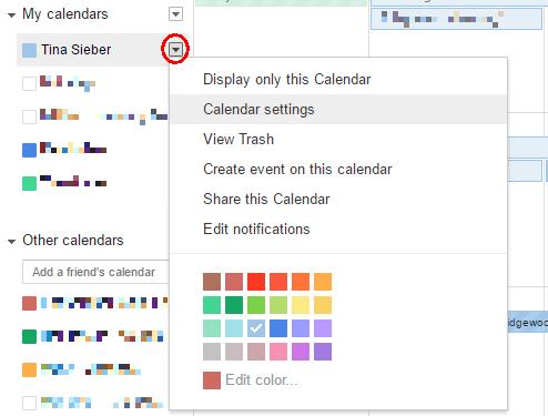 how to integrate google calendar into thunderbird