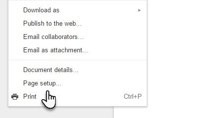 how to change the background colour on google docs