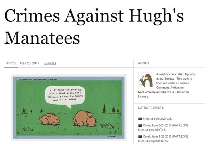 Crimes Against Hugh's Manatees