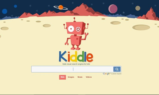 A visual search engine for kids.