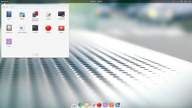 Linux Desktop Environment Pantheon