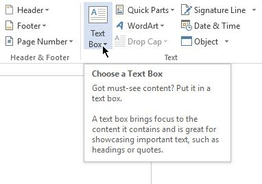 Use This Trick for Better Table Positioning in Microsoft Word MSWord Text Box