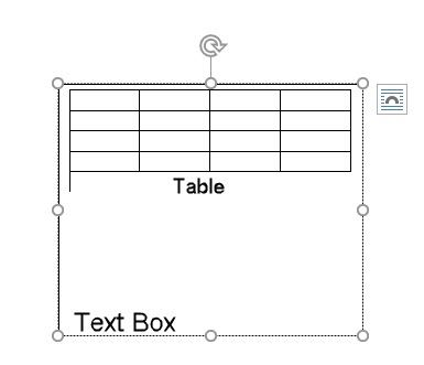 Use This Trick for Better Table Positioning in Microsoft Word MSWord Text Boxes Tables