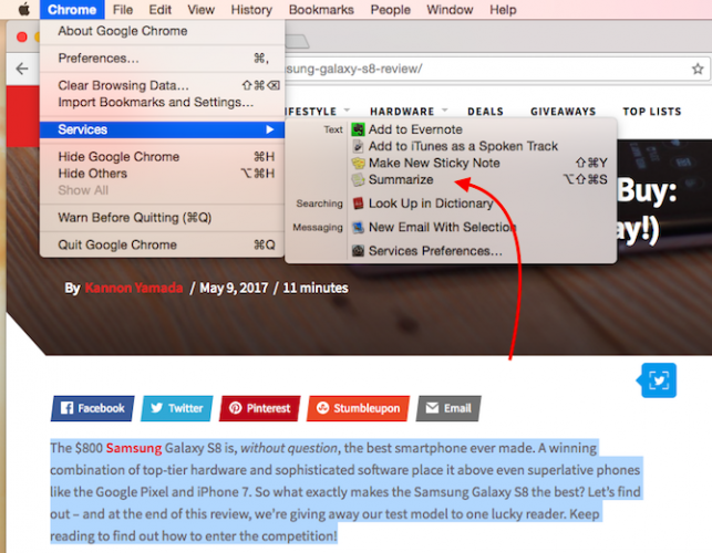 This Hidden Mac Feature Helps You Read Articles and Documents Even Faster MacSummary2 643x500